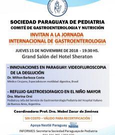 Jornada Internacional de Gastroenterología