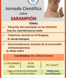 Jornada Científica sobre Sarampión