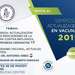 Simposio actualización en vacunas 2019