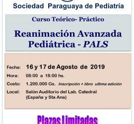 Reanimación Avanzada Pediátrica – PALS