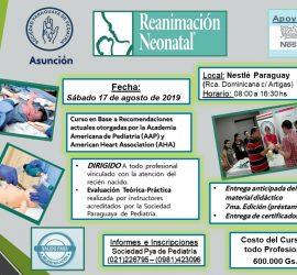 Curso de Reanimación Neonatal en sala de Partos – 2019(Actualizado)