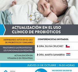 Actualización en el uso clínico de Probióticos