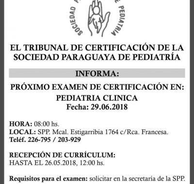 EL Tribunal de Certificación de la SPP: INFORMA